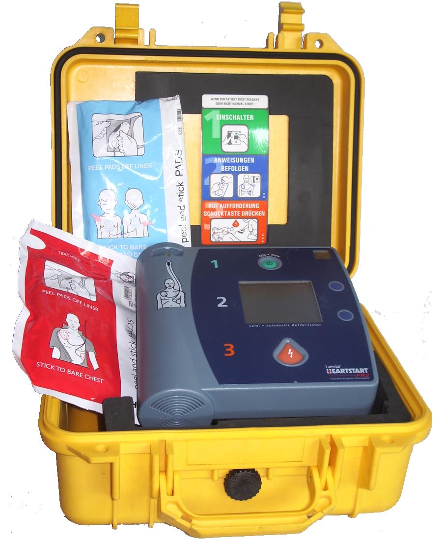AED (Automatisch Externer Defibrilator)